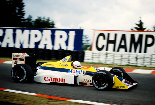 Spa-Francorchamps, Belgian.26-28 August 1988.Martin Brundle (Williams FW12 Judd) 7th position.Ref-88 BEL 28.World Copyright - LAT Photographic
