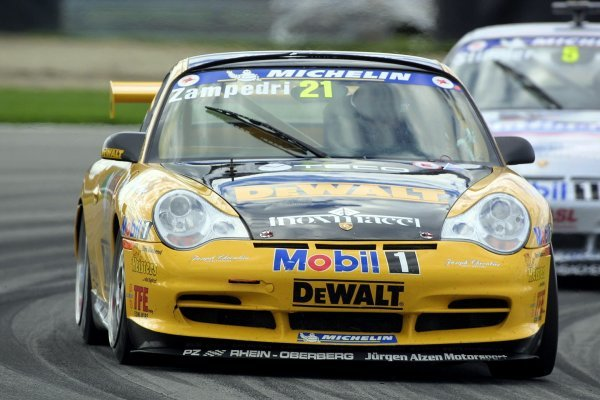 Alessandro Zampedri (ITA) DeWalt Racing finished 3rd.