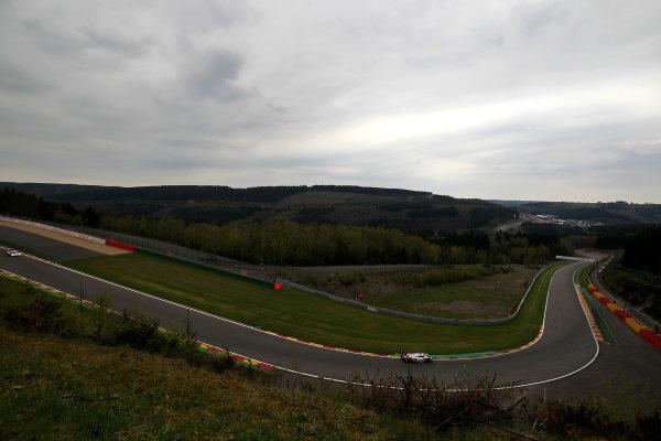 2015 FIA World Endurance Championship, Spa-Francorchamps, Belgium. 30th April - 2nd May 2015. Marcel Fassler / Andre Lotterer / Benoit Treluyer Audi Sport Team Joest Audi R18 e-tron quattro. World Copyright: Ebrey / LAT Photographic.