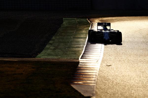 Circuit de Catalunya, Barcelona, Spain Thursday 25 February 2016. Felipe Massa, Williams FW38 Mercedes. World Copyright: Steven Tee/LAT Photographic ref: Digital Image _H7I3872