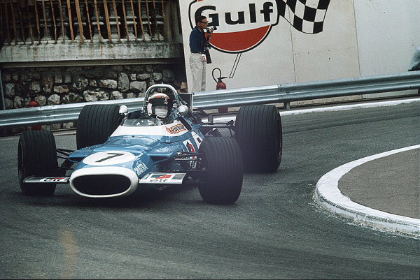 Monte Carlo, Monaco.15-18 May 1969.Jackie Stewart (Matra MS80 Ford).Ref-35mm 69 MON 21.World Copyright - LAT Photographic