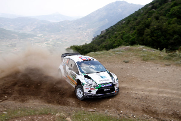 Round 07 Acropolis Rally. 16th - 19th June 2011.Mads Ostberg, Ford WRC, Action.Worldwide Copyright: McKlein/LAT
