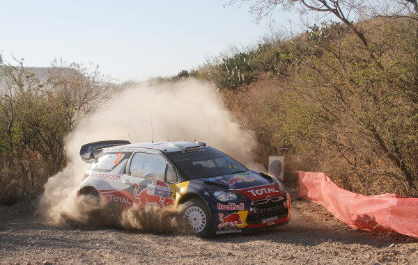 Round 2, Rally of Mexico, 3rd-6th March 2011Sebastien Ogier, Julien Ingrassia, Citroen DS3 WRC,  Worldwide Copyright: McKlein/LAT