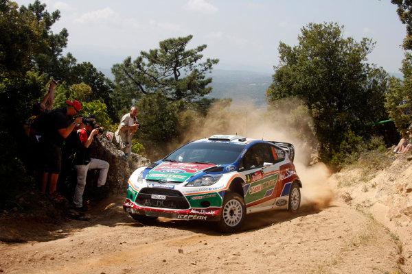 Round 05-Rally Italia Sardegna. 05th-08th May 2011.Jari-Matti Latvala, Ford WRC, Action.Worldwide Copyright: McKlein/LAT