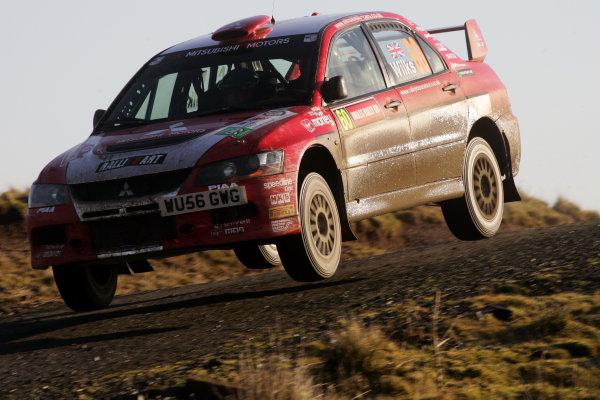 Round 15, Wales Rally GB, 4th-7th December 2008Guy Wilks, Mitsubishi, Action Worldwide Copyright: McKlein/LAT