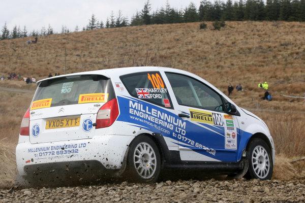 2013 MSA British Rally Championship, Pirelli Richard Burns Foundation Rally, Carlisle. 4th - 5th May 2013. James Ford / Steve Hartley Citroen C2R2 Max. World Copyright: Ebrey / LAT Photographic.
