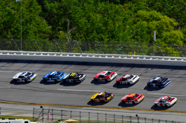 #9: Tyler Reddick, JR Motorsports, Chevrolet Camaro ARMOUR Chili and #1: Elliott Sadler, JR Motorsports, Chevrolet Camaro Chevrolet OneMain Financial