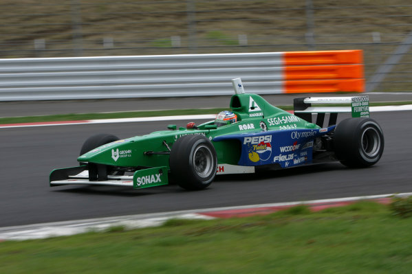 2005 Formula Nippon ChampionshipFuji, Japan. 4th - 5th June 2005 Ronnie Quintarelli (Kondo), in action on his debut race in the Nippon series World Copyright: Yasushi Ishihara/LAT Photographicref: Digital Image Only