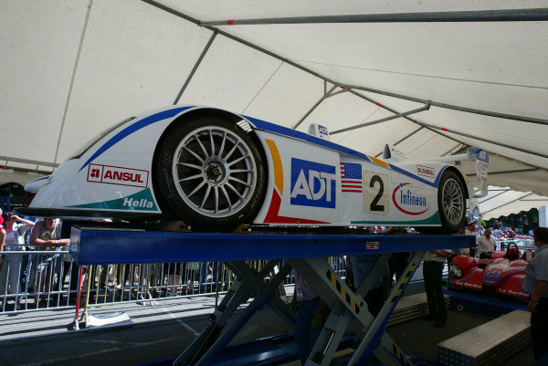 2004 Le Mans 24 HoursLe Mans, France. 8th June 2004The Lola-Judd B2K/10 of Christian Vann, Benjamin Leuenberger and Didier Andre arrives at the circuit.World Copyright: John Brooks/LAT Photographicref: Digital Image Only