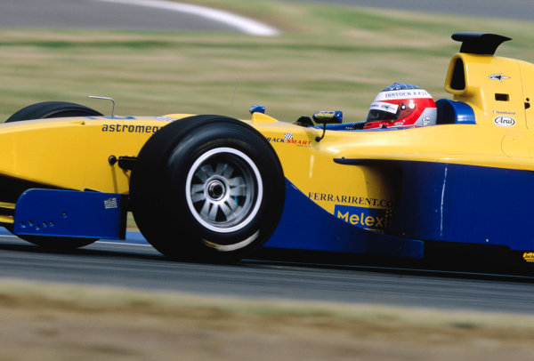 2003 International F3000 - raceSilverstone, England. 20th July 2003Michael KeohaneWorld Copyright - LAT Photographicref: Priority F3K A0
