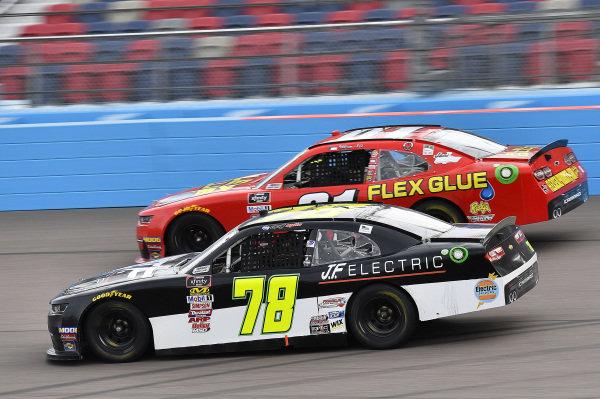 #78: Matt Mills, B.J. McLeod Motorsports, Chevrolet Camaro J.F. Electric