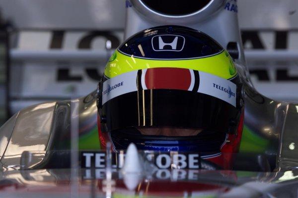 Ricardo Zonta, British American Racing Honda BAR 002Formula One Testing, Silverstone, England, 27/1/00World - Jennings/LAT Photographic