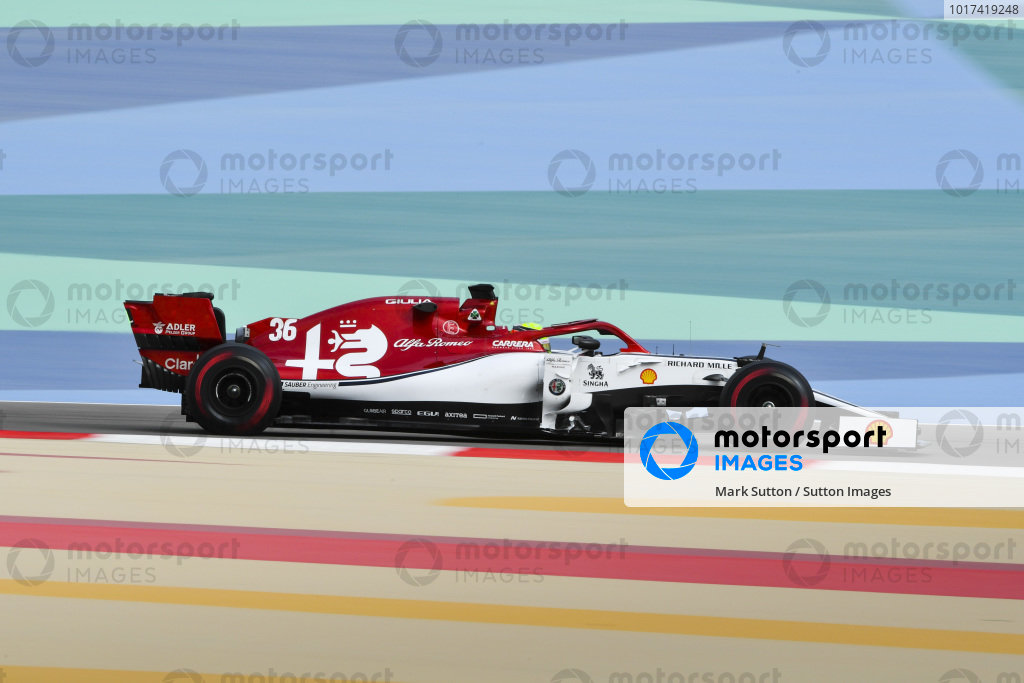 Bahrain April testing