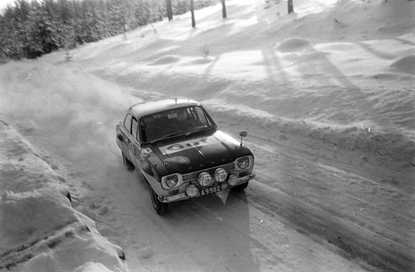 Ove Andersson / Elisabeth Andersson, Ford Escort MkI.