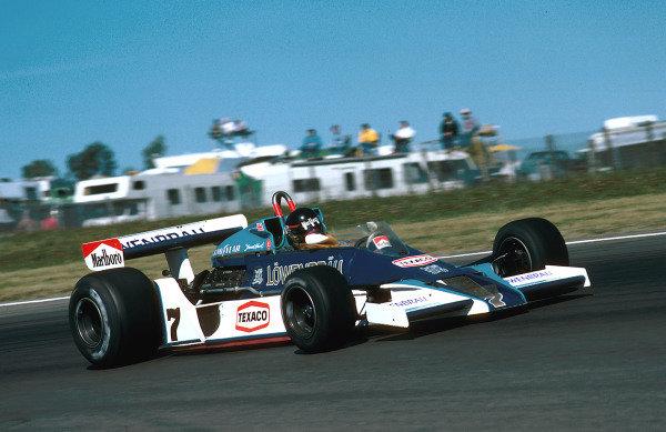 1978 United States Grand Prix East.Watkins Glen, New York, USA.28/9-1/10 1978.James Hunt (McLaren M26 Ford) 7th position. Ref-78 USA 14.World Copyright - LAT Photographic