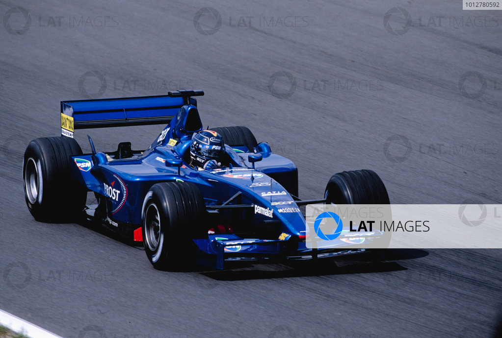 2001 Hungarian Grand Prix.