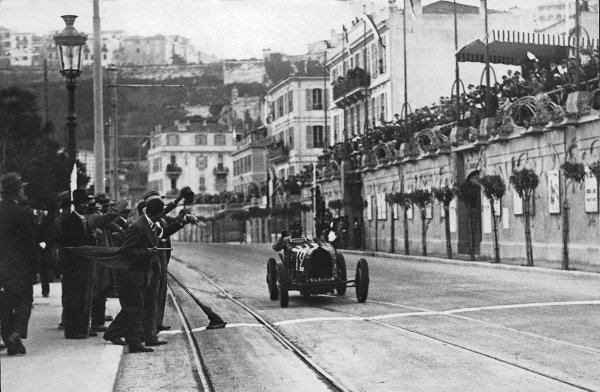 """Monte Carlo.14 April 1929.""""W Williams"""" (real name William Grover-Williams, Bugatti T35B), 1st position.Published-Autocar 19/4/1929 p794.world Copyright - LAT Photographic"""