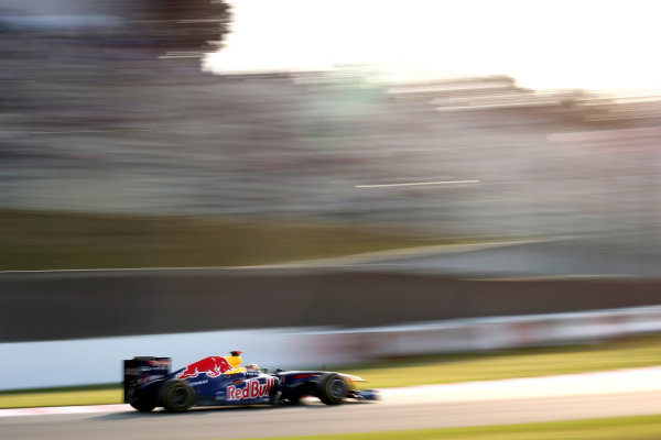 Suzuka Circuit, Suzuka, Japan.7th October 2011.Sebastian Vettel, Red Bull Racing RB7 Renault. Action. World Copyright: Andy Hone/LAT Photographicref: Digital Image CSP24178