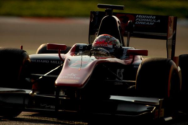 Circuit de Barcelona Catalunya, Barcelona, Spain. Monday 13 March 2017. Nobuharu Matsushita (JPN, ART Grand Prix). Action.  Photo: Alastair Staley/FIA Formula 2 ref: Digital Image 585A7444