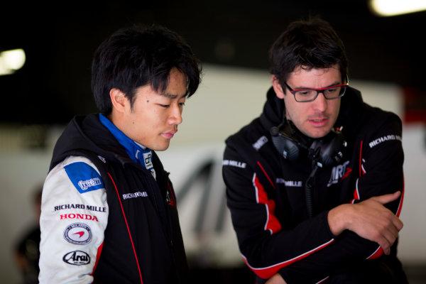 Circuit de Barcelona Catalunya, Barcelona, Spain. Monday 13 March 2017. Nobuharu Matsushita (JPN, ART Grand Prix). Photo: Alastair Staley/FIA Formula 2 ref: Digital Image 580A9367