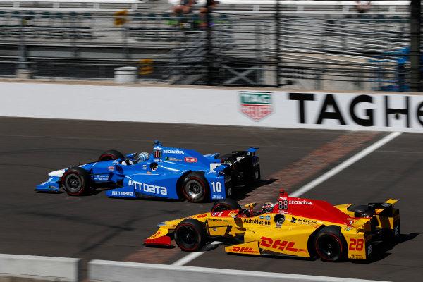 Verizon IndyCar Series Indianapolis 500 Carb Day Indianapolis Motor Speedway, Indianapolis, IN USA Friday 26 May 2017 Tony Kanaan, Chip Ganassi Racing Teams Honda28/i World Copyright: Michael L. Levitt LAT Images