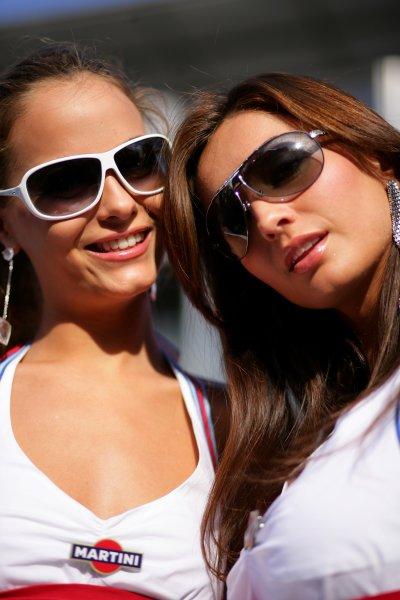 2007 Italian Grand Prix - ThursdayAutodromo di Monza, Monza, Italy.6th September 2007.Martini girls on show in the paddock. Glamour. Atmosphere.World Copyright: Lorenzo Bellanca/LAT Photographicref: Digital Image ZD2J5720