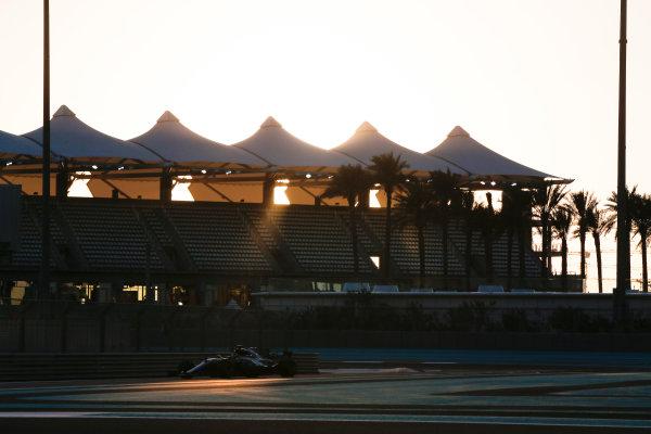 Yas Marina Circuit, Abu Dhabi, United Arab Emirates. Wednesday 29 November 2017. Valtteri Bottas, Mercedes F1 W08 EQ Power+.  World Copyright: Joe Portlock/LAT Images  ref: Digital Image _L5R1033