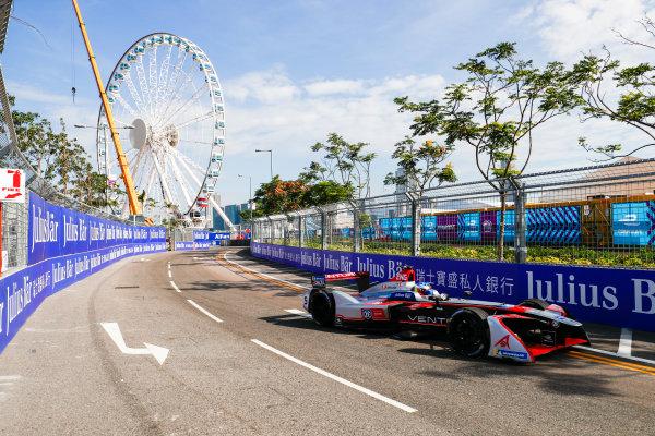 2017/2018 FIA Formula E Championship. Round 1 - Hong Kong, China. Saturday 02 December 2017. Maro Engel (GER), Venturi Formula E, Venturi VM200-FE-03. Photo: Sam Bloxham/LAT/Formula E ref: Digital Image _J6I4250