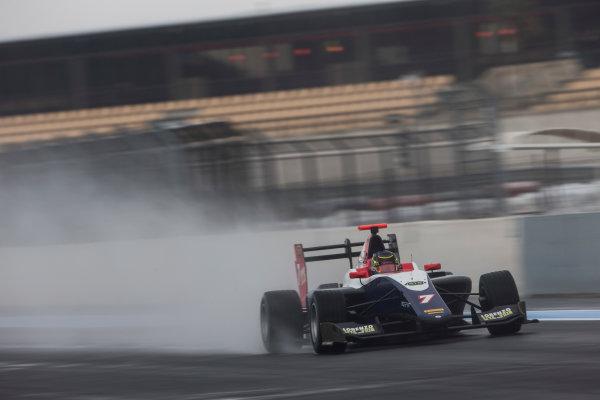 2018 GP3 Series Test 1. Circuit Paul Ricard, Le Castellet, France. Thursday 22 February 2018. Ryan Tveter (USA, Trident) Photo: Andrew Ferraro/GP3 Series Media Service. ref: Digital Image _X0W9049