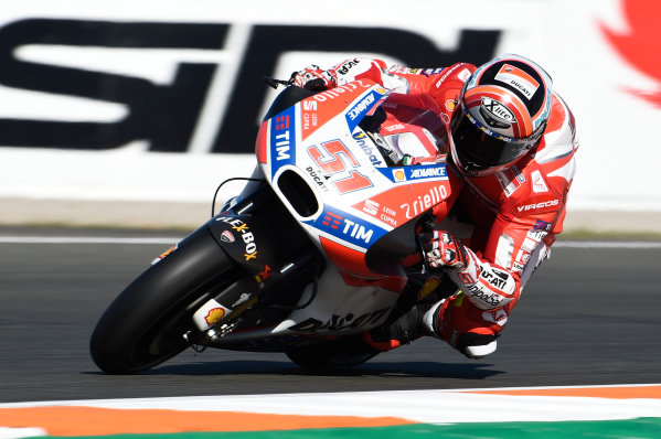 2017 MotoGP Championship - Round 18 Valencia, Spain  Friday 10 November 2017 Michele Pirro, Ducati Team  World Copyright: Gold and Goose Photography/LAT Images  ref: Digital Image 704881