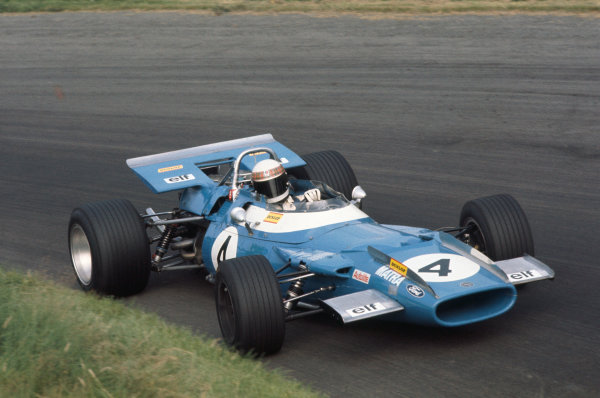 1969 International Gold Cup.  Oulton Park, England. 16th August 1969.  Jackie Stewart, Matra MS80 Ford.  Ref: 69GC02. World Copyright: LAT Photographic