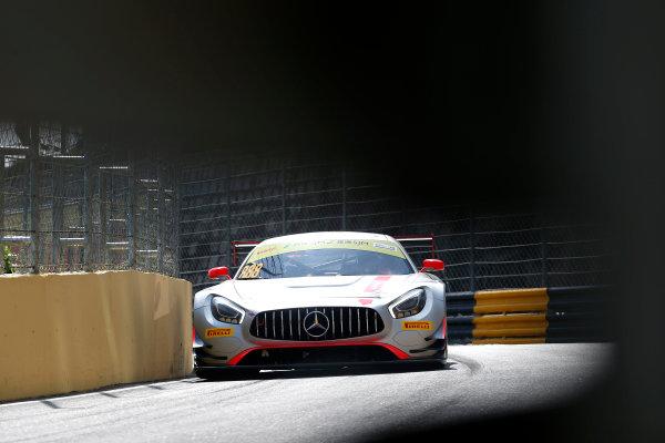2015 FIA GT World Cup Circuit de Guia, Macau, China Thursday 16 November 2017. Raffaele Marciello, Mercedes-AMG Team GruppeM Racing, Mercedes - AMG GT3  World Copyright: Alexander Trienitz/LAT Images ref: Digital Image 2017-Macau-GP-AT2-1400