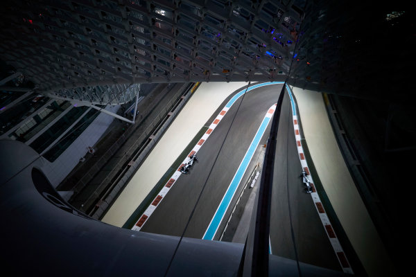 Yas Marina Circuit, Abu Dhabi, United Arab Emirates. Friday 24 November 2017. Valtteri Bottas, Mercedes F1 W08 EQ Power+. World Copyright: Steve Etherington/LAT Images  ref: Digital Image SNE20337