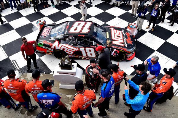 NASCAR XFINITY Series Zippo 200 at The Glen Watkins Glen International, Watkins Glen, NY USA Saturday 5 August 2017 Kyle Busch, NOS Rowdy Toyota Camry wins World Copyright: Rusty Jarrett LAT Images