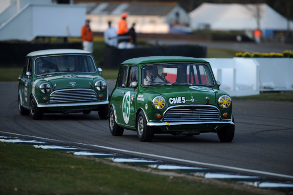 2016 74th Members Meeting Goodwood Estate, West Sussex,England 19th - 20th March 2016 Race 11 Whitmore Cup Rob Huff  Nick Padmore Mini World Copyright : Jeff Bloxham/LAT Photographic Ref : Digital Image