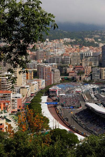 Monte Carlo, Monaco. Thursday 25 May 2017. Valtteri Bottas, Mercedes F1 W08 EQ Power+. World Copyright: Zak Mauger/LAT Images ref: Digital Image _54I4970