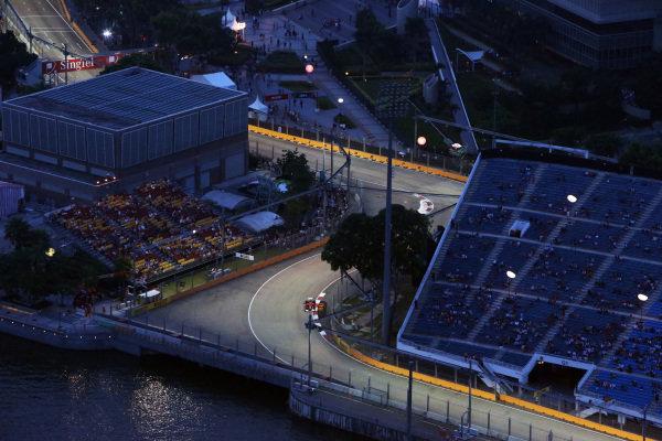 Fernando Alonso (ESP) Ferrari F2012. Formula One World Championship, Rd14, Singapore Grand Prix, Qualifying, Marina Bay Street Circuit, Singapore, Saturday 22 September 2012.