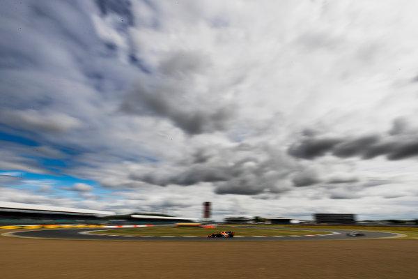 Silverstone, Northamptonshire, UK. Friday 14 July 2017. Stoffel Vandoorne, McLaren MCL32 Honda. World Copyright: Zak Mauger/LAT Images ref: Digital Image _56I8763