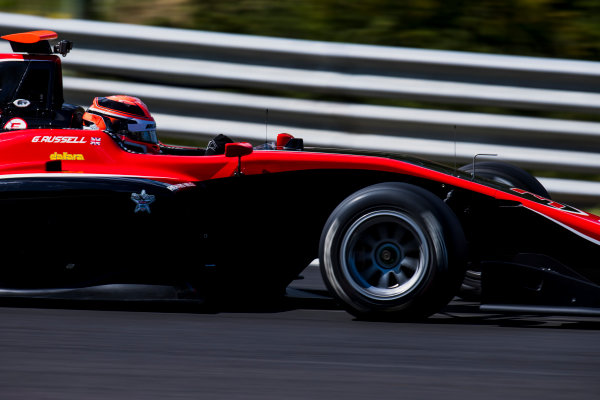 2017 GP3 Series Test 4.  Hungaroring, Budapest, Hungary. Wednesday 7 June 2017. George Russell (GBR, ART Grand Prix)  Photo: Zak Mauger/GP3 Series Media Service. ref: Digital Image _56I2386