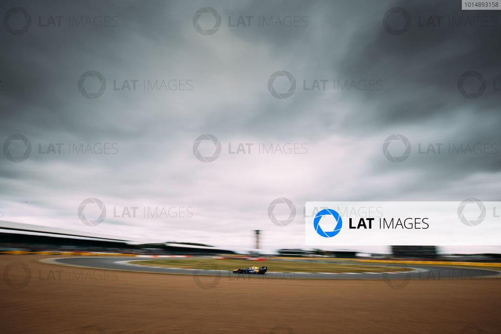 2017 FIA Formula 2 Round 6. Silverstone, Northamptonshire, UK. Sunday 16 July 2017. Nicholas Latifi (CAN, DAMS).  Photo: Malcolm Griffiths/FIA Formula 2. ref: Digital Image MALC7350