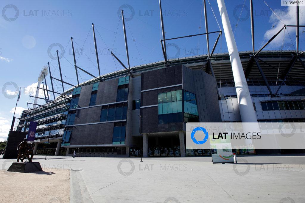 Albert Park, Melbourne, Australia23rd March 2011.The MCG stadium, Melbourne.World Copyright: Andrew Ferraro/LAT Photographicref: Digital Image AF5D8419