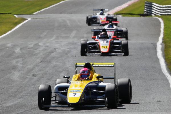 2015 MSA Formula Powered by Ford EcoBoost, Oulton Park, Cheshire. 5th - 7th June 2015. Jessica Hawkins (GBR) Falcon Motorsport MSA Formula. World Copyright: Ebrey / LAT Photographic.