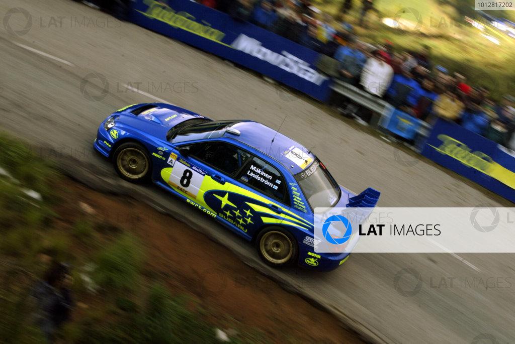 2003 FIA World Rally Champs. Round 13 Catalunya Rally