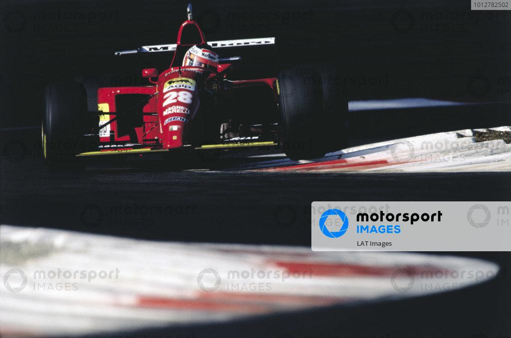 2003 Racing Past. . Exhibition1995 Italian Grand Prix, Monza. Gerhard Berger (Ferrari 412T2).World Copyright - LAT PhotographicExhibition ref: a008