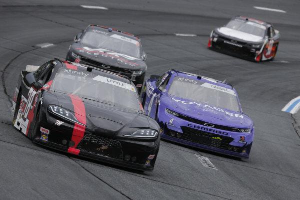 #78: Jesse Little, B.J. McLeod Motorsports, Toyota Supra, #4: Landon Cassill, JD Motorsports, Chevrolet Camaro Voyager