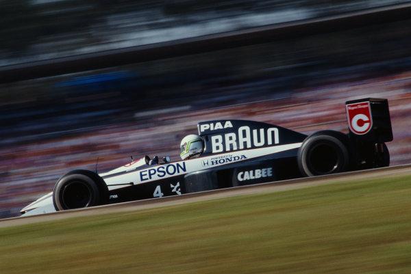 Stefano Modena, Tyrrell 020 Honda.