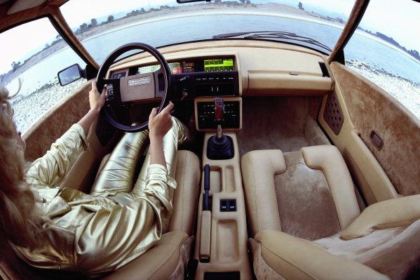 Concept Car, Bertone Volvo Tundra, 1979
