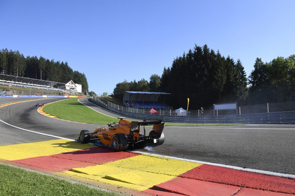 SPA-FRANCORCHAMPS, BELGIUM - AUGUST 30: Alessio Deledda (ITA, Campos Racing) during the Spa-Francorchamps at Spa-Francorchamps on August 30, 2019 in Spa-Francorchamps, Belgium. (Photo by Gareth Harford / LAT Images / FIA F3 Championship)