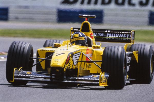 Damon Hill, Jordan 199 Mugen-Honda.