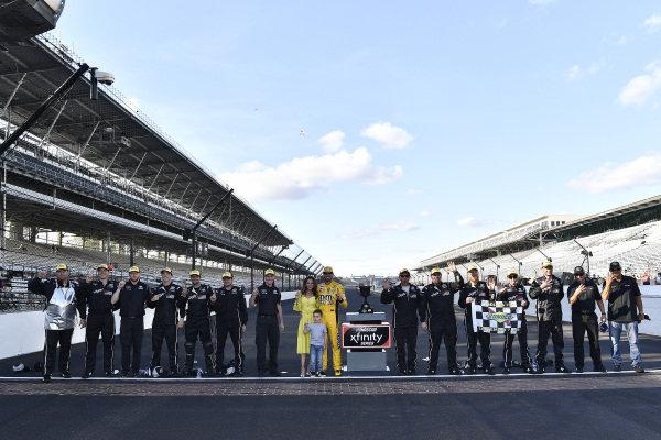 #18: Kyle Busch, Joe Gibbs Racing, Toyota Supra Combos wins